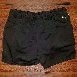 115a4b011a1d Puma Shorts - Womens Puma Athletic Running Shorts Black Pink XL